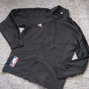 Adidas 3-Stripe Official NBA Jacket Size Small